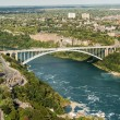 Stock Photo: Rainbow bridge at NiagarFalls