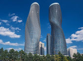 Modern condos in Mississauga, Ontario Canada — Stock Photo