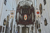 Organs in Cathedral in Gdansk Oliwa — 图库照片