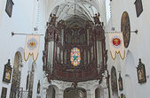 Gdansk Oliwa - organ in the Cathedral, Poland — Stock Photo