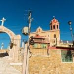 The church of Santo Cristo del Ojo de Agua in Saltillo, Mexico — Stock Photo #27635549