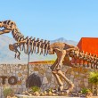 Dinosaur monument in Desert Museum, Saltillo, Mexico — Stock Photo