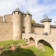 Medieval city of Carcassonne in France — Stock Photo