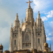 Church of the Sacred Heart, Tibidabo, Barcelona  — Stock Photo