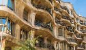 Gaudi building in Barcelona Spain — Stock Photo