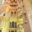 Sagrada Familia interior, Barcelona — Stock Photo #35670143