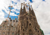Sagrada Familia, Barcelona — Stock Photo
