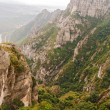 Montserrat mountain near Barcelona in Catalonia, Spain — Stock Photo