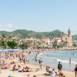Beaches in Sitges, Spain — Stock Photo