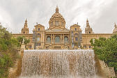 Palace of Montjuic, Barcelona, Spain — Stock Photo