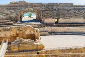 Roman Amphitheatre in Tarragona Spain — Stock Photo