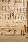 Klasztor w poblet w pobliżu barcelona, w katalonii, w hiszpanii — Zdjęcie stockowe