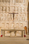 Poblet monasterio cerca de barcelona en cataluña, españa — Foto de Stock