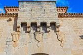 Poblet Monastery near Barcelona in Catalonia, Spain — Stockfoto