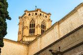 Poblet Monastery near Barcelona in Catalonia, Spain — Stock Photo