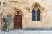 Poblet Monastery near Barcelona in Catalonia, Spain — Stok fotoğraf