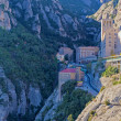 Montserrat monastery near Barcelona, Spain — Stock Photo