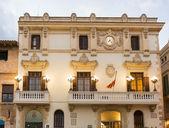 Casa de la Vila in Vilafranca, Catalonia, Spain. — Stock Photo
