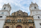 Metropolitan Cathedral Casco Viejo, Panama city — ストック写真