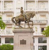 Statue of General Tomas Herrera in  Panama City — Stock Photo