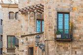 Gothic Quarter of Barcelona, Spain — ストック写真