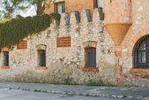 Old buildings in Codorniu winery in Sant Sadurni d'Anoia, Spain — Stock Photo