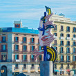 Barcelona Head Sculpture, Spain. — Stock Photo #46215805