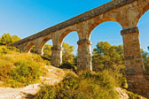 Devil bridge in Tarragona, Spain — Stock Photo