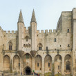France Provence Midi Avignon Papal Palace Palais des Papes — Stock Photo