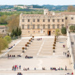 Avignon France view from the roof of Popes Palace. — Stock Photo