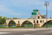 St. Benezet bridge in Avignon, France — Stock Photo