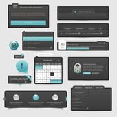 Website template UI elements — Stock Vector