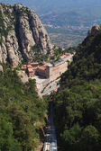 Montserrat monastery. Catalonia, Spain — Stock Photo
