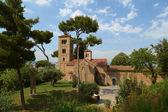 Monasterio de Sant Miquel. Poble Espanyol. Barcelona — Stock Photo