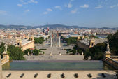 Plaza de Espana. Barcelona. Spain — Stock Photo