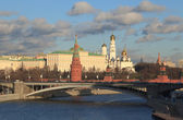 Moscow's Kremlin cityscape. — Stock Photo