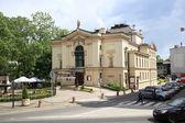Театр в Бяльского Бяла, Бельско Столица воеводства Польши — Стоковое фото