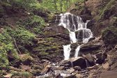 Waterfall Shipot, Transcarpathia, Ukraine — Stock Photo