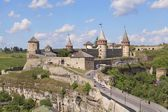 Old Castle Kamenetz-Podolsk - medieval castle town of Kamenetz-Podolsk, one of the historical monuments of Ukraine. — Stock Photo