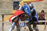 Jousting battles in Belgorod-Dniester fortress (before 1944 - Akkerman Fortress) — Stock Photo