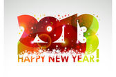 New year poster 2013 — Stock Vector