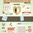 Stock Vector: Wedding infographic