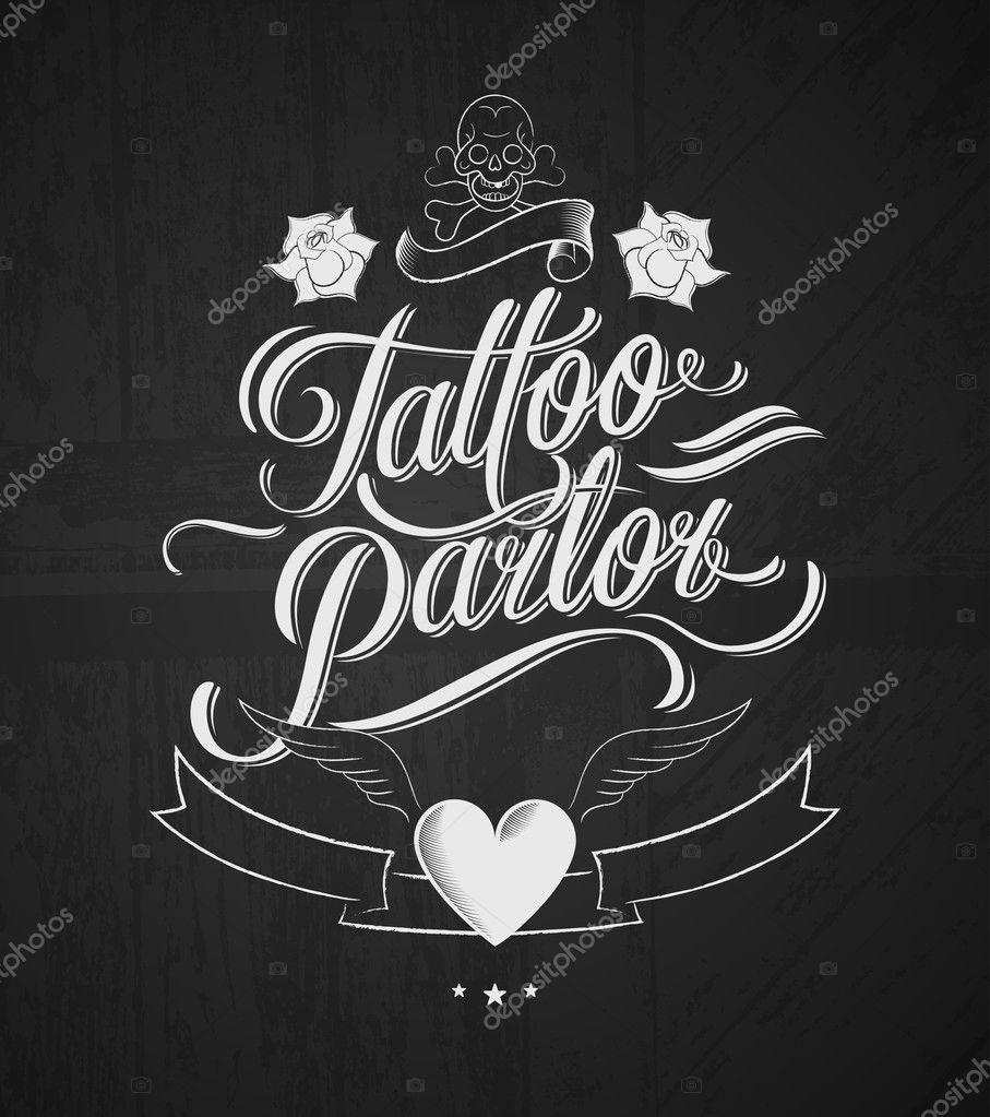 Parlor design joy studio design gallery best design for Vintage tattoo art parlor