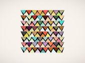 Geometric rhombus color pattern background — Vecteur