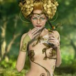 Forest Nymph — Stock Photo