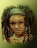 Caribbean Girl — Stock Photo