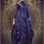 ������, ������: Purple Belle Epoque Gown 3d CG