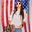 Young patriot — Stock Photo #13820992
