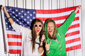 Young patriots — Fotografia Stock