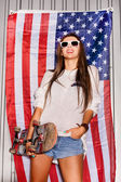 Young patriot — Stock Photo